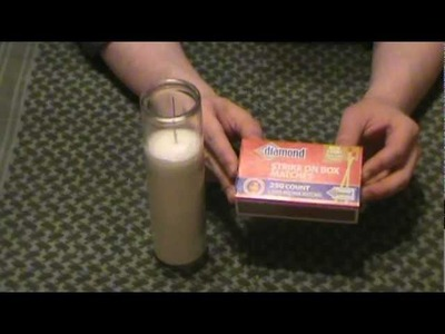 80 Hour Survival Candle Review from Dollar Tree