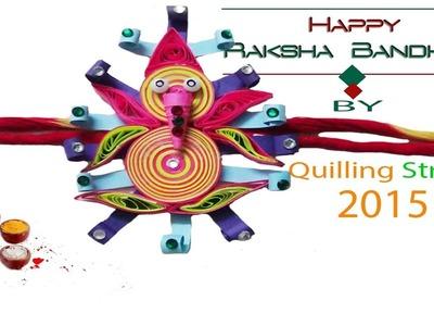 "Art & Craft: How to make ""Rakhi"" Quilling ganesha"