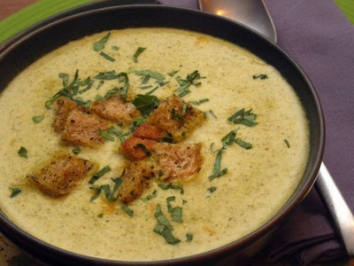 Broccoli and Cheese Soup Recipe -- The Frugal Chef