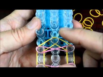 Butterfly Blossom Rainbow Loom Bracelet Tutorial