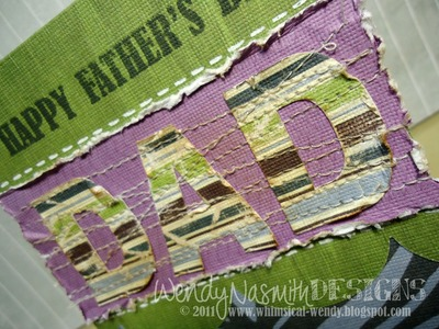 Card Tutorial - Father's Day