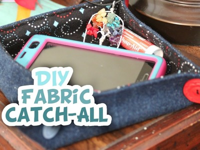 DIY Fabric Catch-All Bowl - Whitney Sews