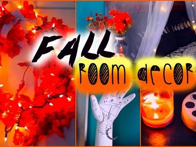 DIY fall room decor: Tumblr inspired