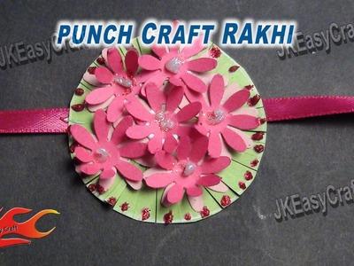 DIY Paper Rakhi for Raksha Bandhan | How to make |JK Easy Craft for kids 029