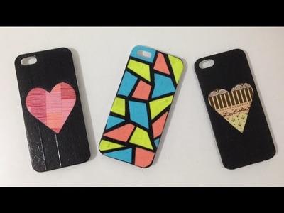 DIY Phone Case   Washi Tapetorial
