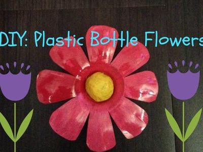 DIY: Plastic Bottle Flowers