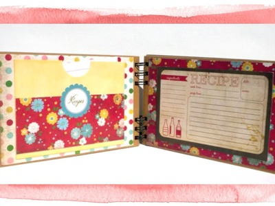 DIY Recipe Book With the Carta Bella Homemade with Love Collection