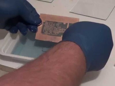 DIY Two Sided Printed Circuit Board With Solder Mask - Photo Sensitive Method