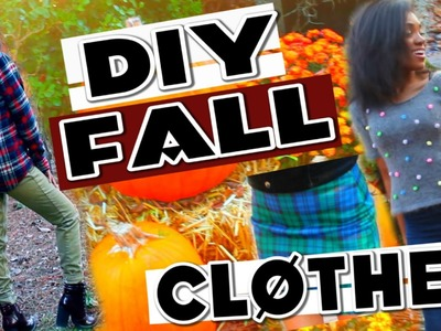 Easy and Quick DIY Fall Clothes Inspired by Tumblr Photos!