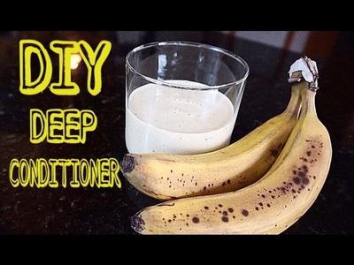 EASY DIY Banana Deep Conditioner