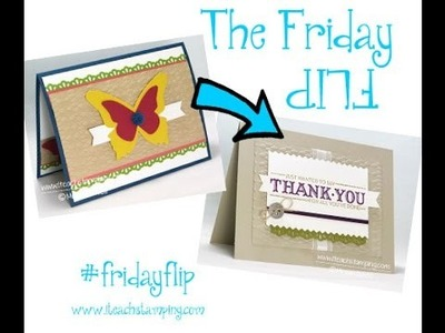 Friday Fip:  How to Make A Thank You Card