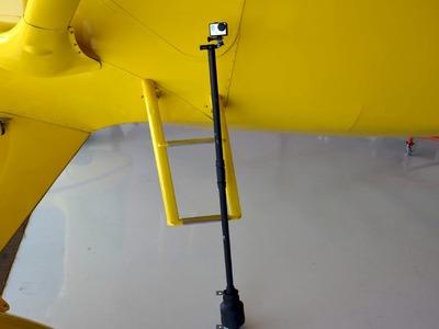 GoPro Hero 3+ Homemade Weighted Pole Stabilizer DIY