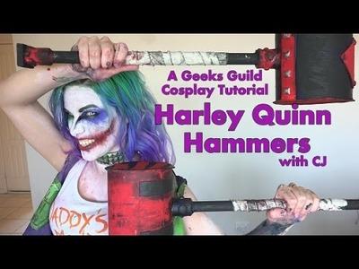 HARLEY QUINN.LUCY QUINN HAMMERS - Cheap, easy, DIY tutorials!