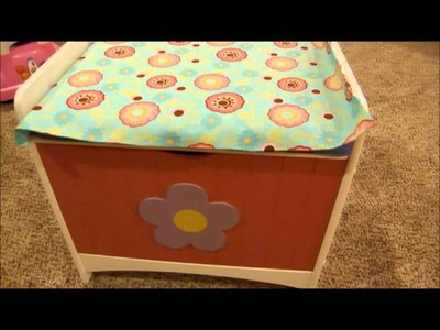 Hartlee's Up-Cycled Toy Box!