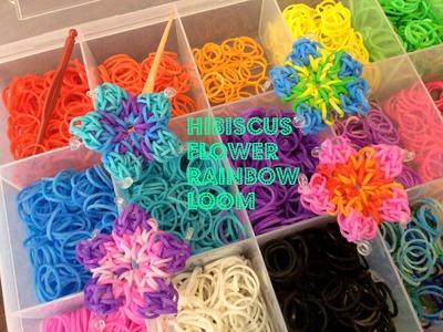 Hibiscus Flower-  Rainbow Loom Tutorial