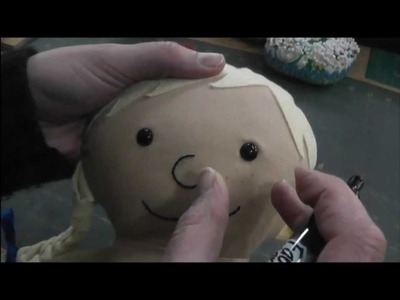 How to Add Freckles to a Rag Doll