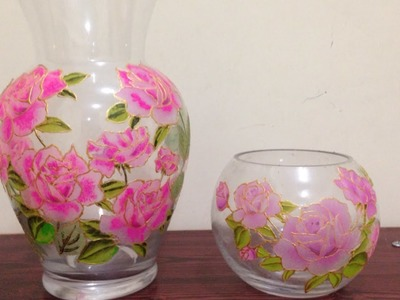 How To Create a Pretty Floral Decorated Vase - DIY Home Tutorial - Guidecentral