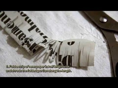How To Creatively Wrap Using Newspaper - DIY Crafts Tutorial - Guidecentral