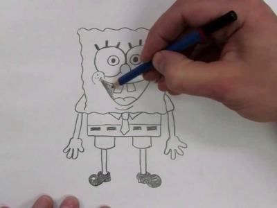 How To Draw: SpongeBob Squarepants