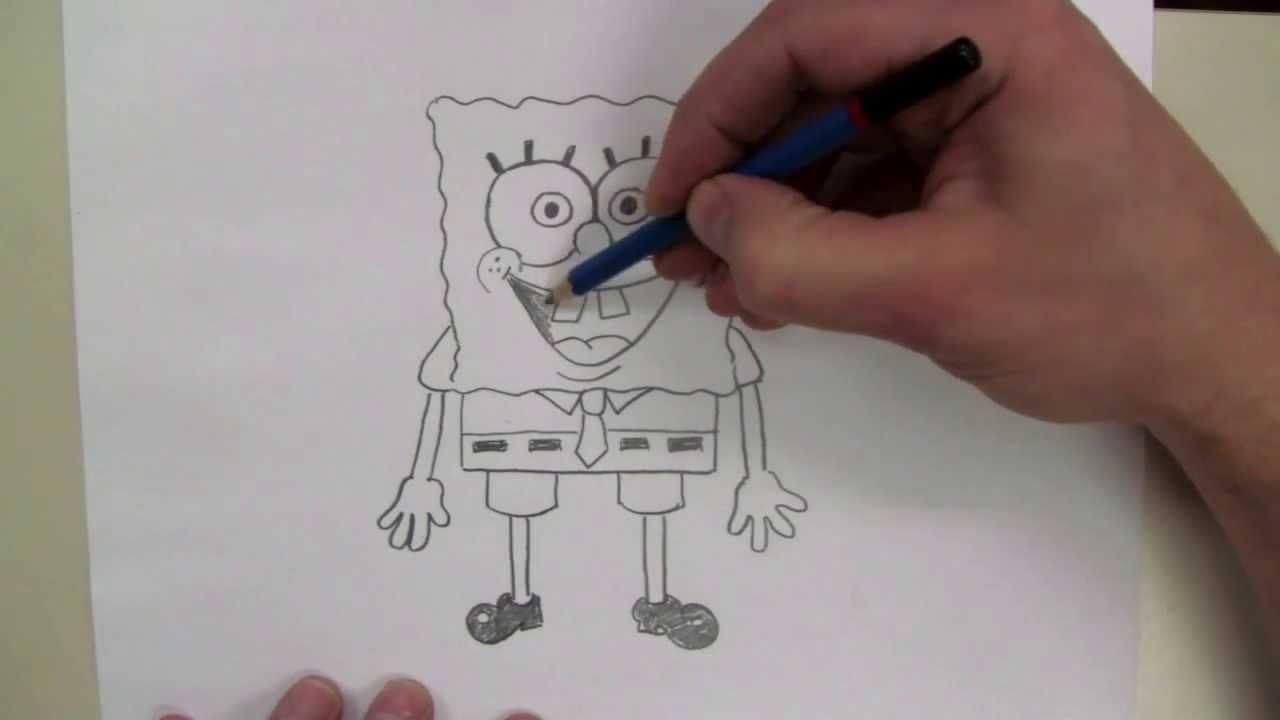 How To Draw: SpongeBob Squarepants
