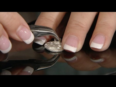 How to Embed a Prong Setting in Art Clay to Set Gemstones - Sheree Henry Tutorial