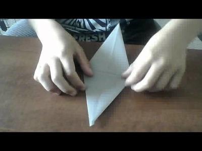 How to make an origami gulper eel