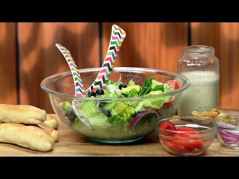 How to Make Olive Garden's Breadsticks and Salad | Get the Dish