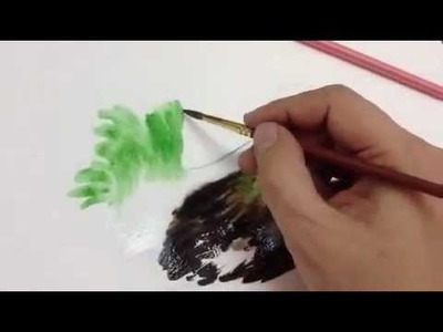 How to paint chicken Part 1