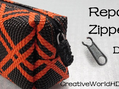 How to Repair Zipper - 3D Printing Pen.3Doodler DIY Tutorial by Creative World