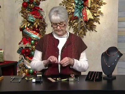 Jewel School: Kathy Bradley Copper Chain Part 2