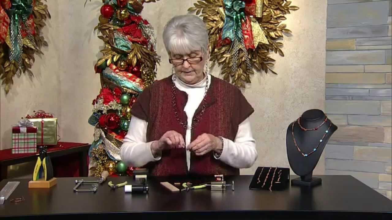 Jewel School: Kathy Bradley Copper Chain Part 2
