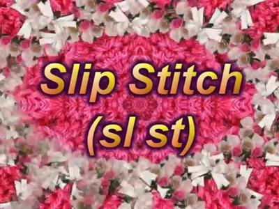 Learn to Crochet Lesson 6 - Slip Stitch  (sl st)