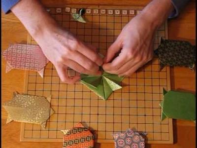 Origami Tortoise Turtle Instructions