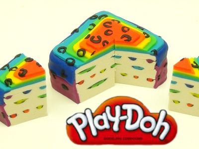 Playdoh Rainbow Leopard Cake. How to make a Rainbow Leopard Cake