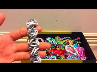 Rainbow Loom bracelet collection!