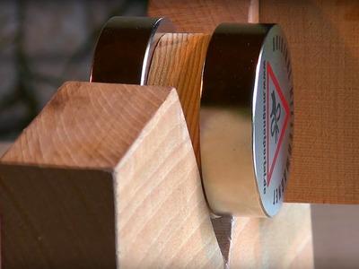 Separating large neodymium magnets
