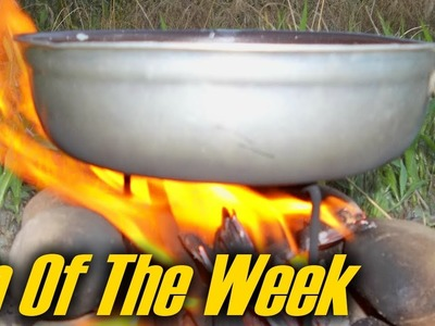 """Tent Stake Stove & Campfire Grill - """"Tip Of The Week"""" (E22)"""