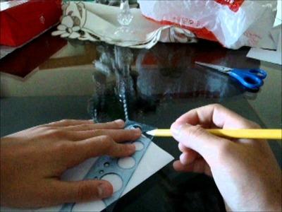 Unbelievable paper toy Tutorial part 1.2