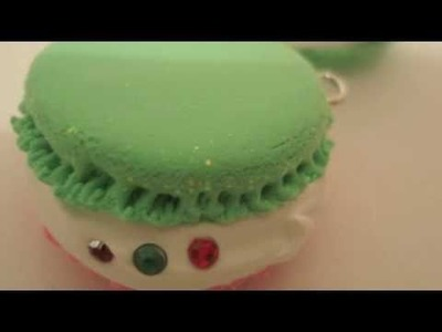 12 Days of Xmas Tutorial: Day 9 - Macaroon Charms