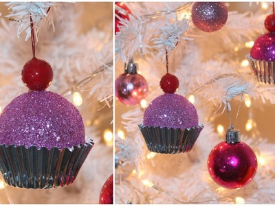 12 DIYs of Christmas : DIY Cupcake Ornaments
