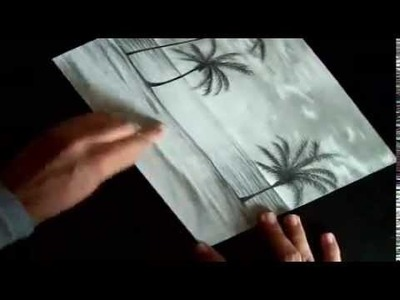 A Speed Drawing of a Beach