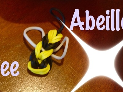 Abeille bee Rainbow Loom Comment faire Tutorial easy facile français