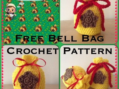 Bell Bag Crochet Tutorial ~ Animal Crossing Inspired