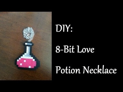 DIY: 8-Bit Love Potion Necklace
