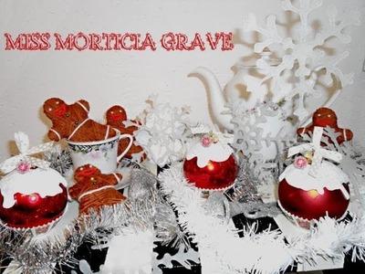 Diy Christmas Ornaments ( Cupcake, Gingerbread man, Snowflake)