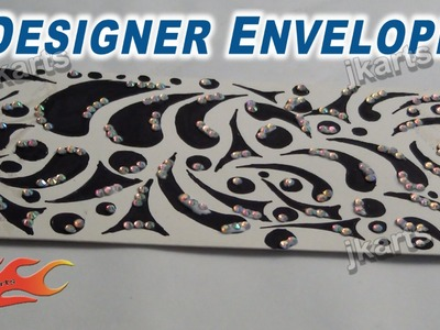 DIY Designer  Envelope for Wedding JK Arts 243