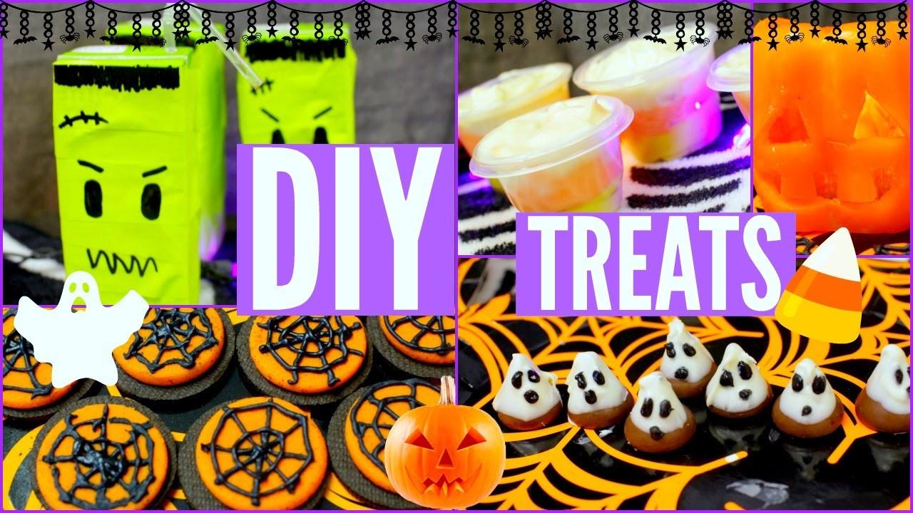 DIY HALLOWEEN TREATS! Creative, Easy, Quick, Perfect for Parties!