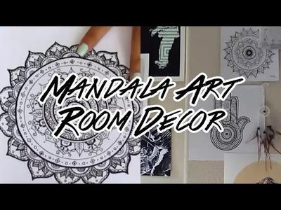 DIY Mandala Room Decor! (Boho Wall Art)