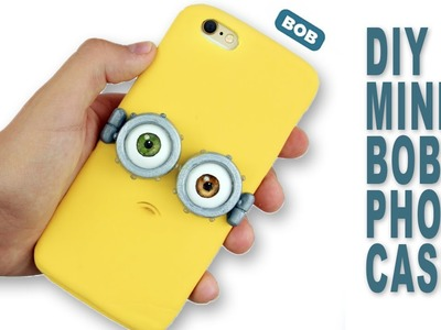 DIY | Minion Bob Phone Case Tutorial - Polymer Clay How-to