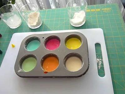 DIY: Pintura casera con 3 ingredientes